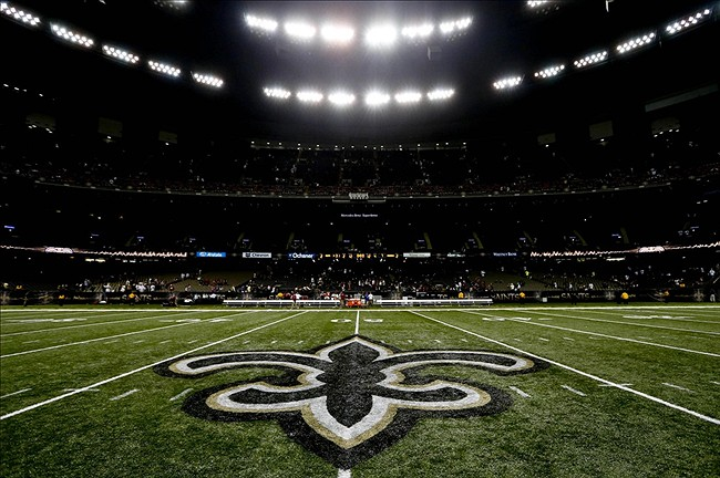 Image result for new orleans saints superdome