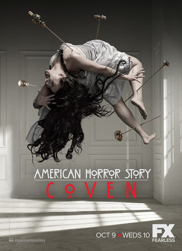 "Promo Poster for the FX Series ""American Horror Story: Coven"" Photo Credit: FX"