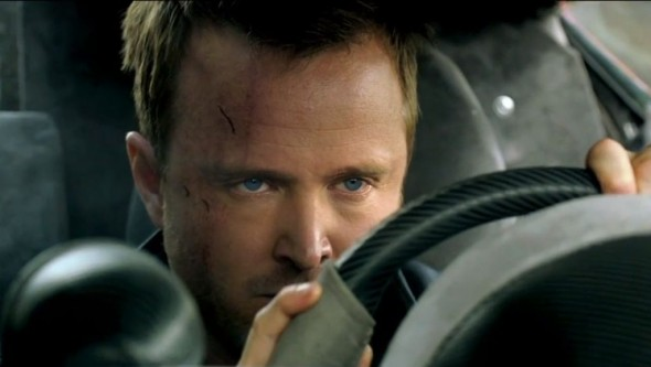 Aaron Paul as Tobey Marshall in the upcoming film 'Need For Speed.' Photo Credit: DreamWorks Studios