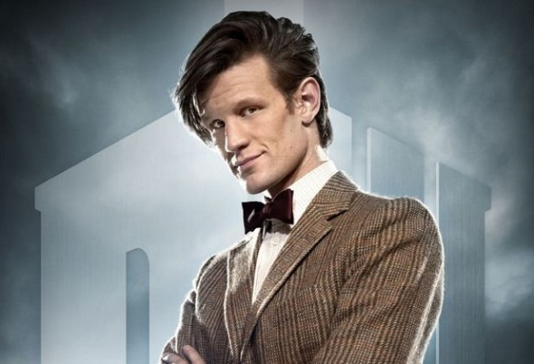 Matt Smith as the 11th Doctor in Doctor Who
