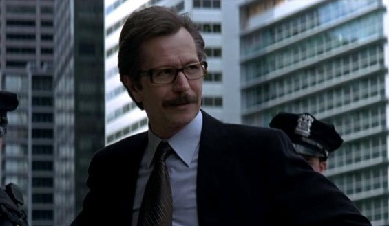 Gary Oldman as Comissioner Jim Gordon in 'The Dark Knight'