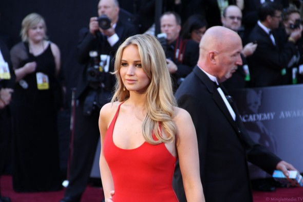 Jennifer Lawrence at the 83rd Academy Awards Photo Courtesy of Mingle MediaTV