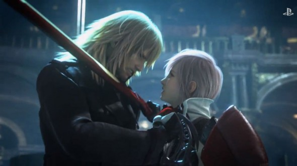 Snapshot of the Opening Cut Scene from Lightning Returns: Final Fantasy XIII Photo Credit: Sony/Square Enix