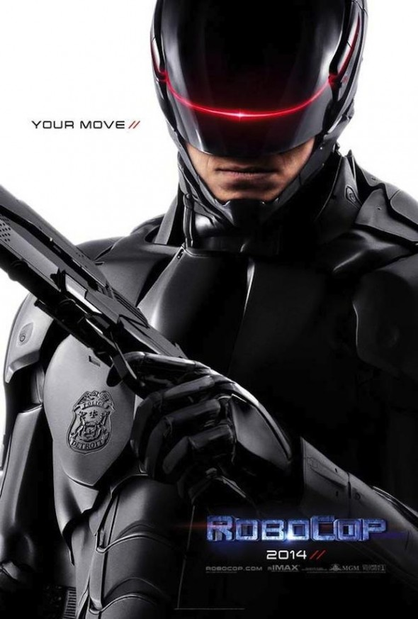 Promo Poster for the Upcoming Release 'RoboCop'