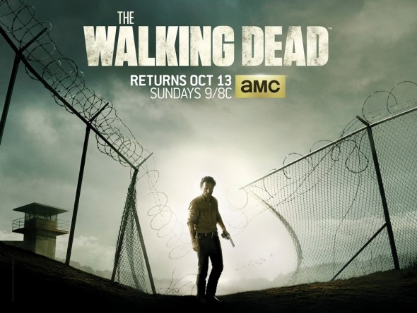 Key Art for Season 4 of AMC's The Walking Dead Photo Credit: AMC