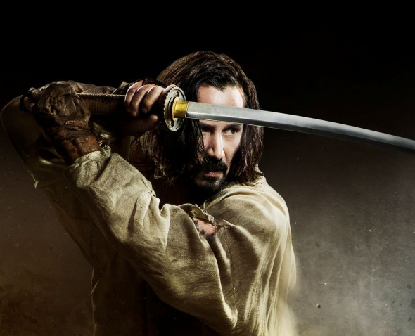Keanu Reeves as Kai in the film '47 Ronin'. Photo Credit: Universal Pictures
