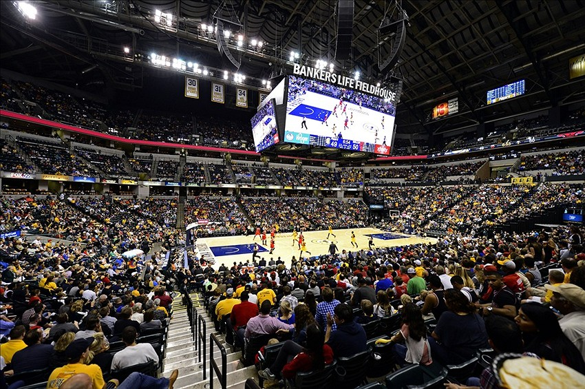 Indiana Pacers become first NBA team to sell on-court advertisements