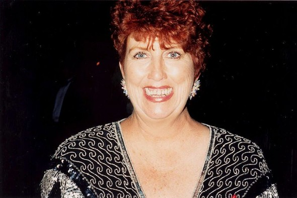 'The Simpsons' actress Marcia Wallace at the 47th Annual Emmy Awards. Photo Credit: Alan Light