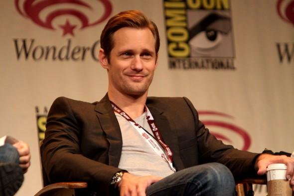 Could Alexander Skarsgard be the next Christian Grey? Photo Credit: Gage Skidmore