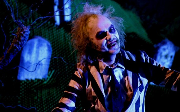 Michael Keaton as the title role in the 1988 film 'Beetlejuice'. Photo Credit: Warner Bros.