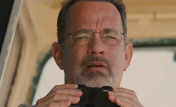 Tom Hanks as Captain Richard Phillips in the film 'Captain Phillips'. Photo Credit: Sony Pictures
