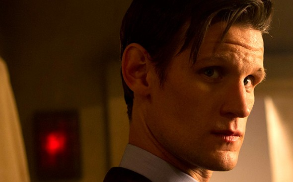 Matt Smith as the 11th Doctor in the 'Doctor Who' 50th Anniversary Special 'The Day of the Doctor' Photo Credit: BBC