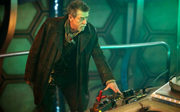 "John Hurt as the ""mystery"" Doctor in the 'Doctor Who' 50th Anniversary Special 'The Day of the Doctor' Photo Credit: BBC"