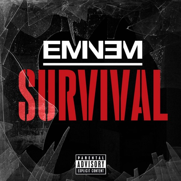 Cover Art for Eminem s new single 'Survival'. Photo Credit: Eminem Facebook Page
