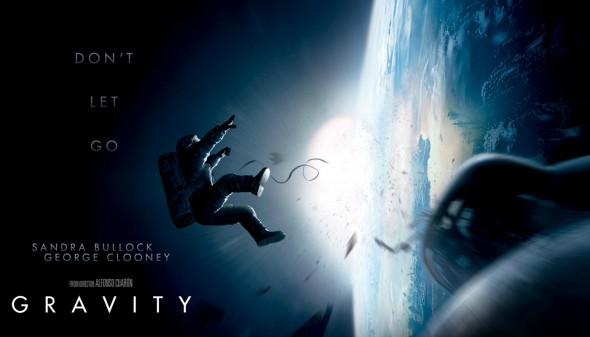 Promotional Poster for Alfonso Cuarón's film 'Gravity'. Photo Credit: Warner Bros.