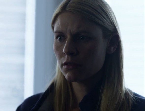 Claire Danes as Carrie Mathison in Season 3 Episode 6 of the Showtime Original Series 'Homeland'. Photo Credit: Showtime