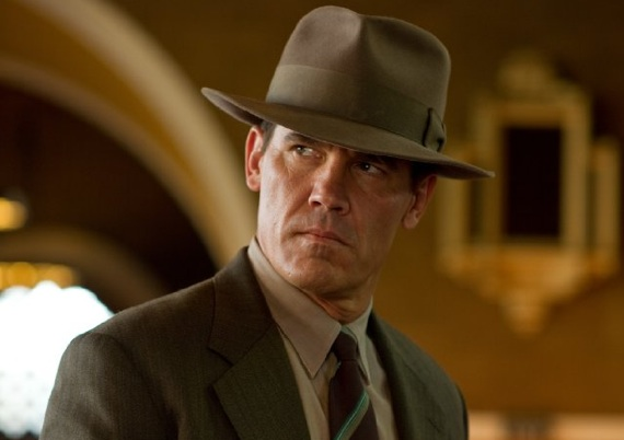 Josh Brolin as Sgt. John O'Mara in the film 'Gangster Squad'. Photo Credit: Warner Bros.