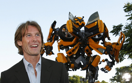 Michael Bay, Director of 'Transformers 4: Age of Extinction' Photo Credit: Paramount