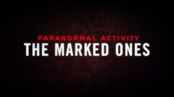 Main Title for the Upcoming Film 'Paranormal Activity: The Marked Ones' Photo Credit: Paramount Pictures