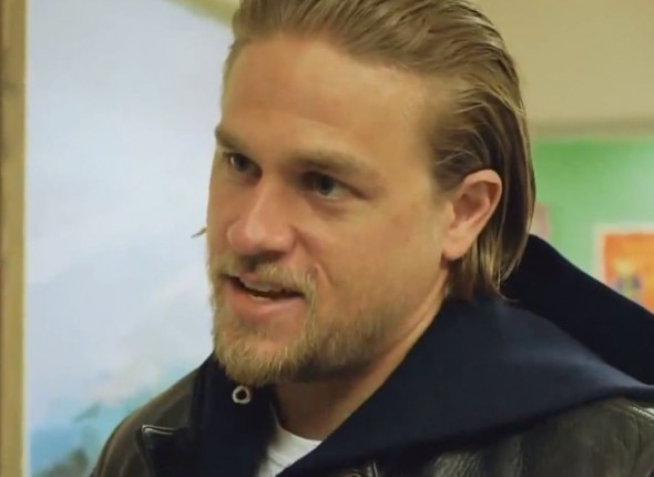 Charlie Hunnam as Jax Teller in Season 6 Episode 8 of 'Sons of Anarchy'. Photo Credit: FX