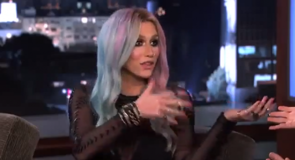 Ke$ha on Jimmy Kimmel