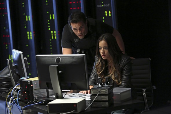 Chloe Bennet and Brett Dalton as Skye and Agent Grant Ward in Season 1 Episode 5 of 'Marvel's Agents of S.H.I.E.L.D.' Photo Credit: ABC/Justin Lubin