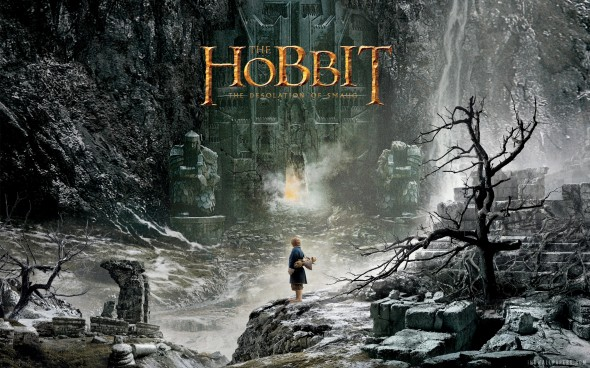 Promo Poster for the film 'The Hobbit: The Desolation of Smaug'. Photo Credit: Warner Bros.