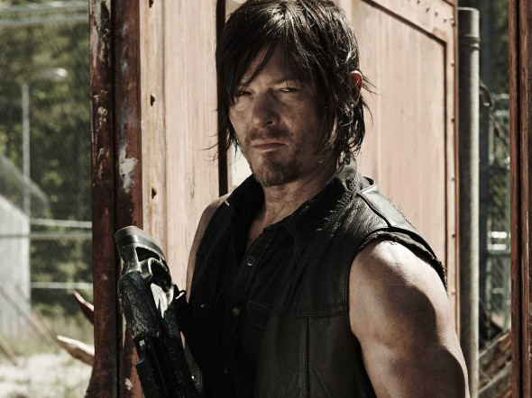 Norman Reedus as Daryl Dixon in 'AMC's The Walking Dead'. Photo Credit: AMC
