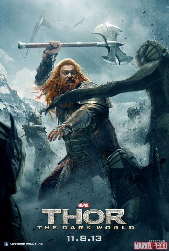 Ray Stevenson as the warrior Volstagg in the film 'Thor: The Dark World'. Photo Credit: Marvel