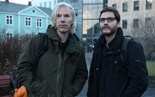 Benedict Cumberbatch portrays Wikileaks founder Julian Assange in The Fifth Estate.
