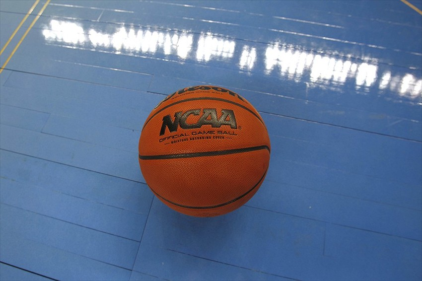 Mar 16, 2012; Greensboro, NC, USA; NCAA logo shot during the second round of the 2012 NCAA men