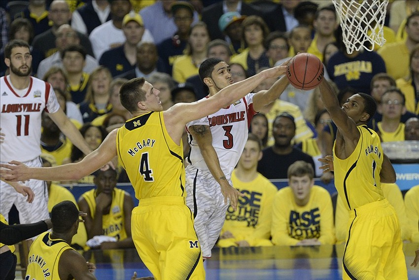 Mitch McGary, who had an impressive performance throughout the NCAA