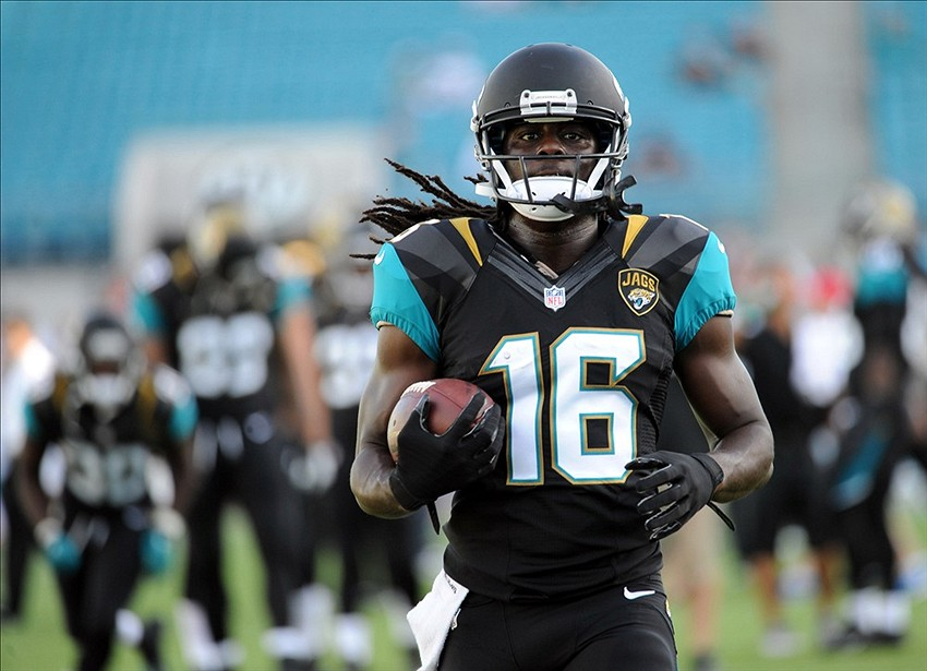 Jaguars hope to get Denard Robinson 14 carries per game