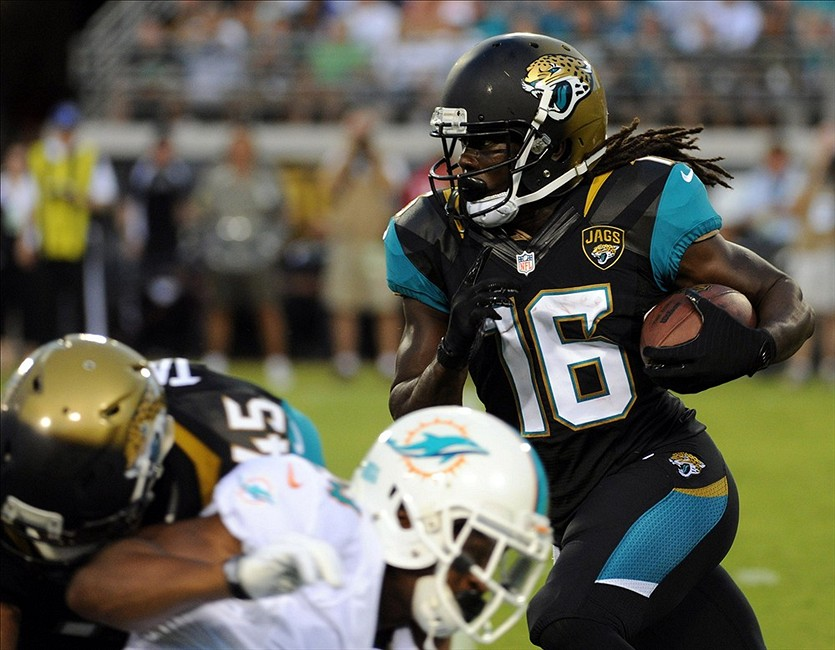 Jaguars name Denard Robinson No. 2 running back