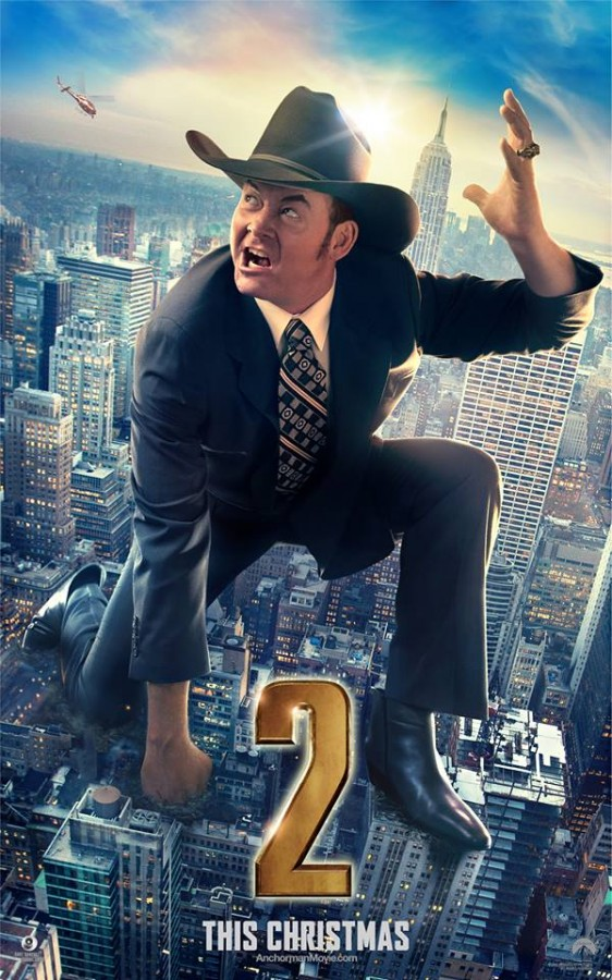 David Koechner as Champ Kind in the film 'Anchorman 2: The Legend Continues' Photo Credit: Paramount Pictures