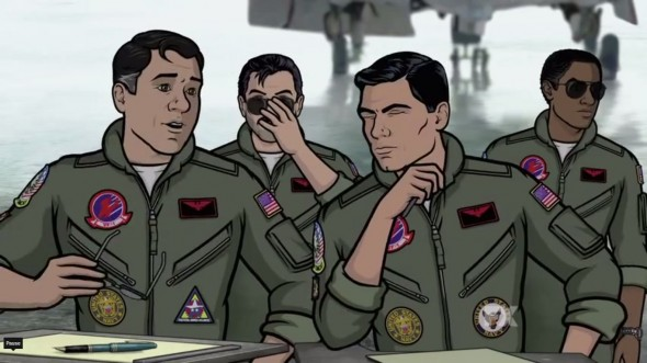Archer gets ready to debut Season 5 on January 13th, 2013. Photo Credit: FX