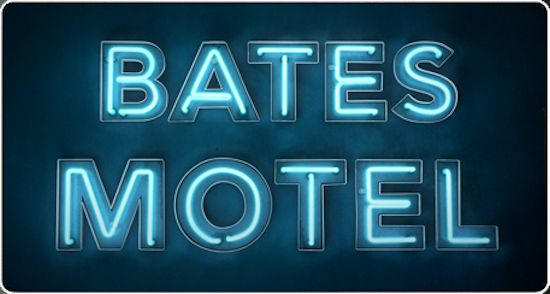 Logo for the TV Series 'Bates Motel'. Photo Credit: A&E