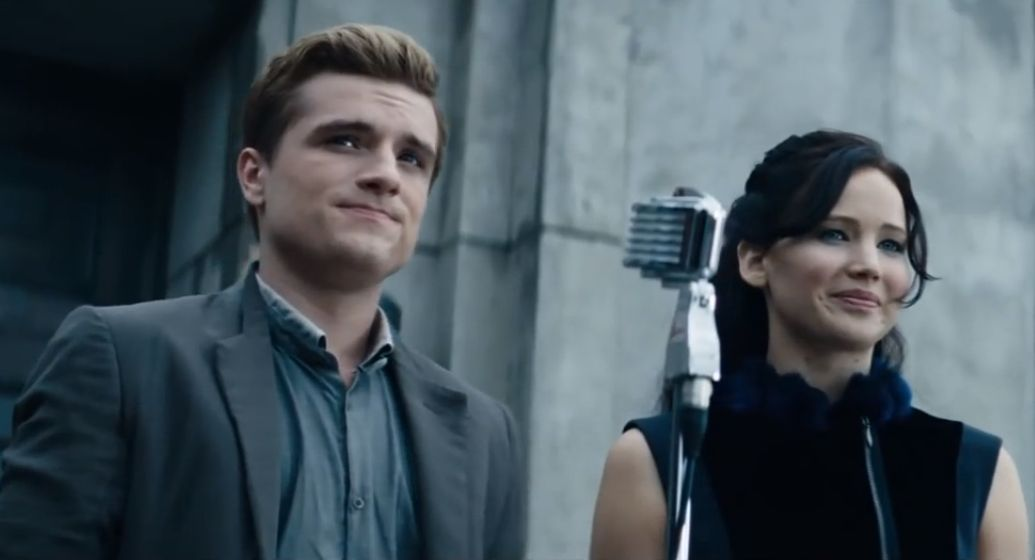 The gallery for --> Peeta Catching Fire Reaping