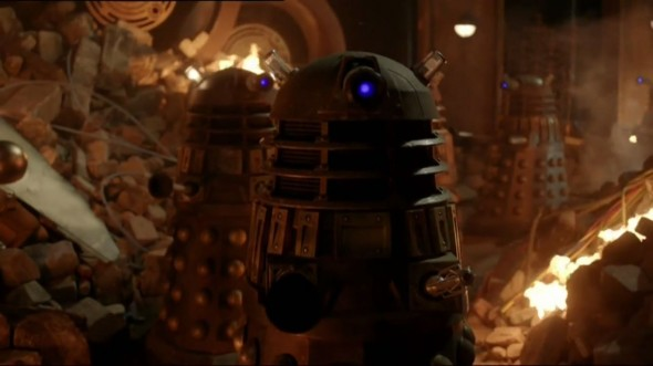 "The 50th Anniversary Special of 'Doctor Who entitled ""The Day of the Doctor"" will mark the return of the Daleks. Photo Credit: BBC"