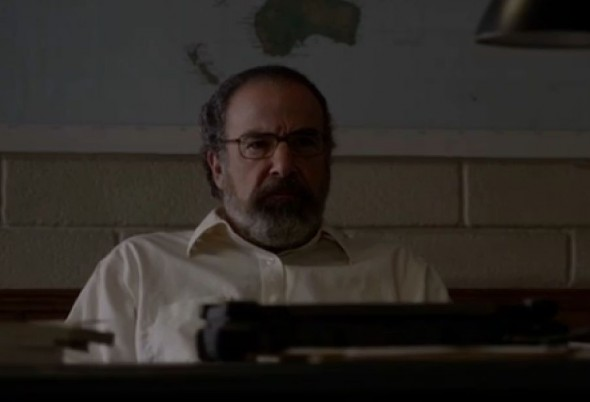 "Mandy Patinkin as Saul Berenson in Season 3 Episode 9 of ""Homeland"" entitled ""Horse and Wagon."" Photo Credit: Showtime"