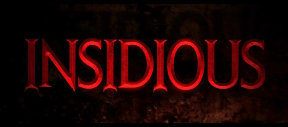 Insidious Logo Photo Credit: Film District