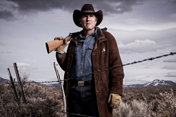 Robert Taylor as Walt Longmire. New episodes of Longmire will begin in 2014. Photo Credit: A&E