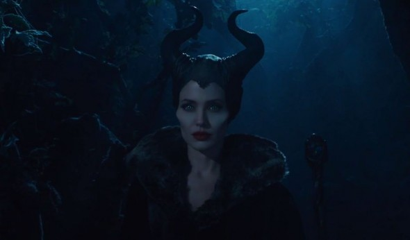 Angelina Jolie as Maleficent in the upcoming Disney live action film 'Maleficent.' Photo Credit: Walt Disney