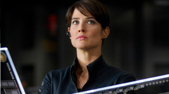 Cobie Smulders as Agent Maria Hill in 'The Avengers'. Photo Credit: Marvel