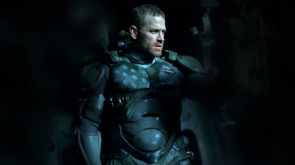 Max Martini as Herc Hansen in 'Pacific Rim.' Photo Credit: Warner Bros.