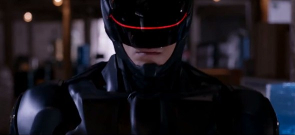 Joel Kinnaman as RoboCop/Alex Murphy in the 2014 reboot of the film 'RoboCop'. Photo Credit: MGM/Sony Pictures