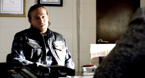 Charlie Hunnam as Jax Teller in Season 6 Episode 9 of 'Sons of Anarchy' Photo Credit: FX