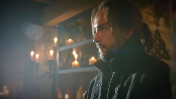 Tom Mison as Ichabod Crane in Season 1 Episode 6 of 'Sleepy Hollow'. Photo Credit: Fox