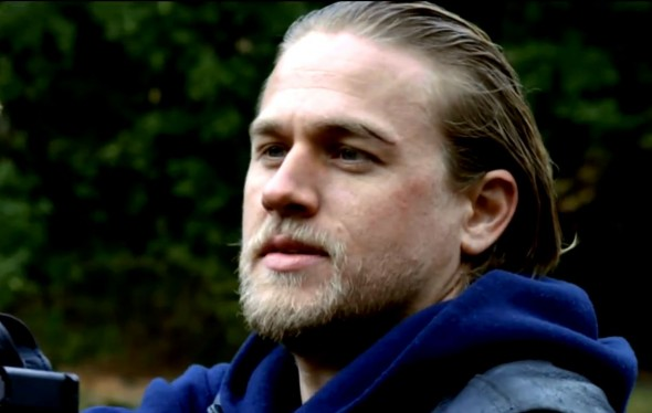 Charlie Hunnam as Jax Teller in Season 6 Episode 12 of 'Sons of Anarchy' entitled 'You Are My Sunshine'. Photo Credit: FX