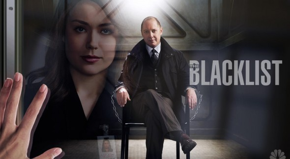 James Spader and Megan Boone as Raymond Reddington and Elizabeth Keen in the new hit series, 'The Blacklist.' Photo Credit: NBC